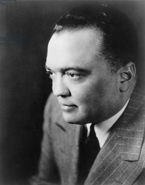 J. Edgar Hoover the director of the Federal Bureau of Investigation in 1948 publicity photograph