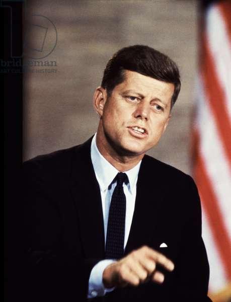 John F. Kennedy (1917-1963), U.S. President (1961-1963), c. 1962