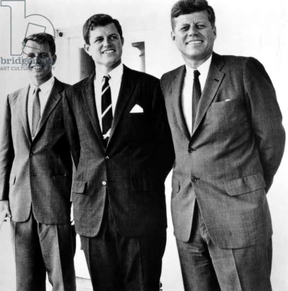 Robert Kennedy, Edward Kennedy, John Kennedy, ca. 1960