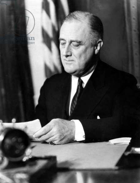 President Franklin Delano Roosevelt (1882-1945) 32nd President, 1935