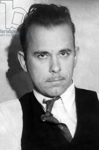 John Dillinger, Public Enemy No.1. Photo was taken while Dillinger was under arrest in Tucson, Arizona, on Jan. 2, 1934