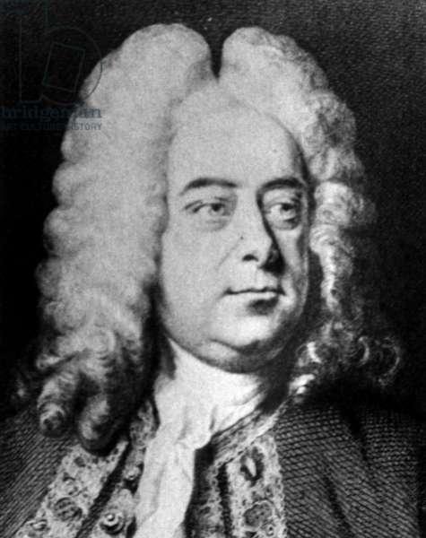 Classical composer George Frideric Handel.(1685-1759).
