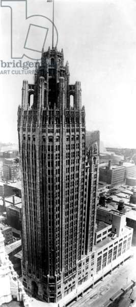 The Tribune Tower, Chicago, Illinois, c. 1925