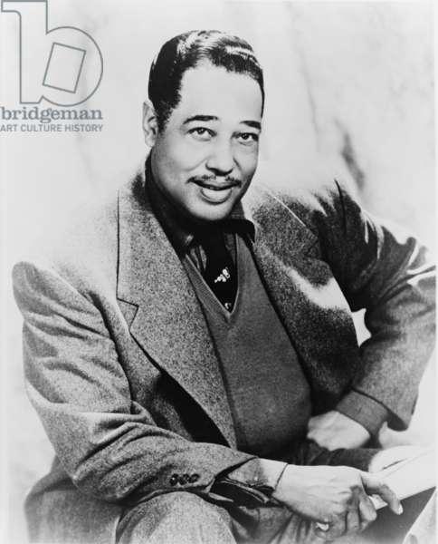 Duke Ellington (1899-1974), foremost American jazz composer, 1959