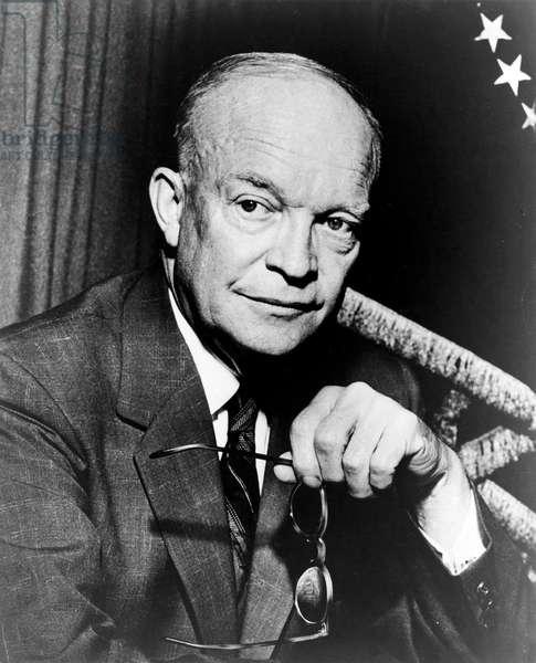 President Dwight D. Eisenhower, 1954