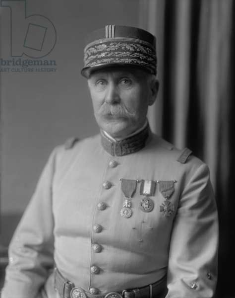Marshal Henri Petain of France, c. 1935. The World War 1 hero assumed the role of Chief of State of Vichy France after the Nazi conquest of France in WW2 and collaborated with the Germans