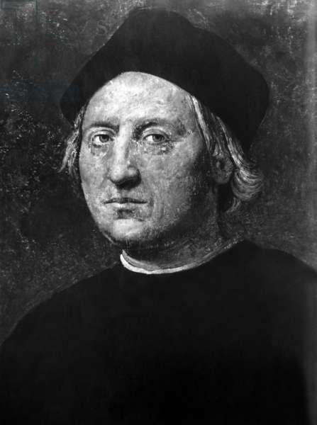 Italian explorer and sailor Christopher Columbus (1451-1506).