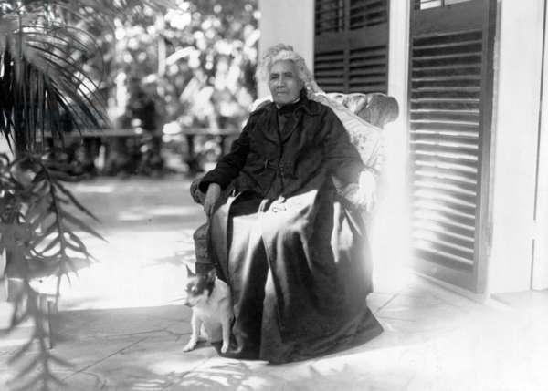 Liliuokalani, Queen of Hawaii. c. 1917
