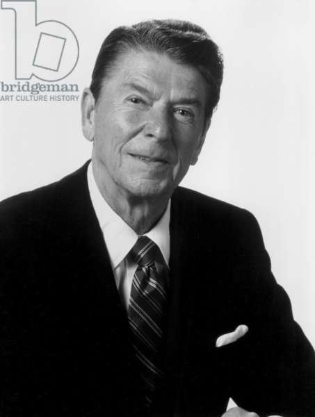 Ronald Reagan, portrait as President, c. 1982
