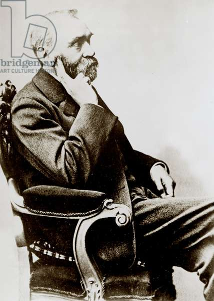 ALFRED NOBEL, scientist and founder of Nobel Prize awards, c. early 1900s