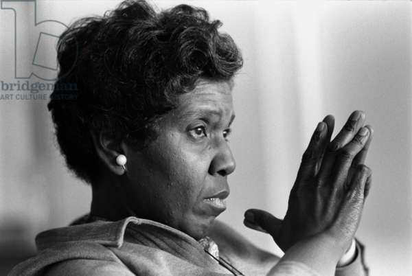 Congresswoman Barbara Jordan. In 1966 she became the first woman ever elected to the Texas Senate and the first African American to serve since 1883. After her 1972 election to Congress she became a national figure. Oct. 18, 1966