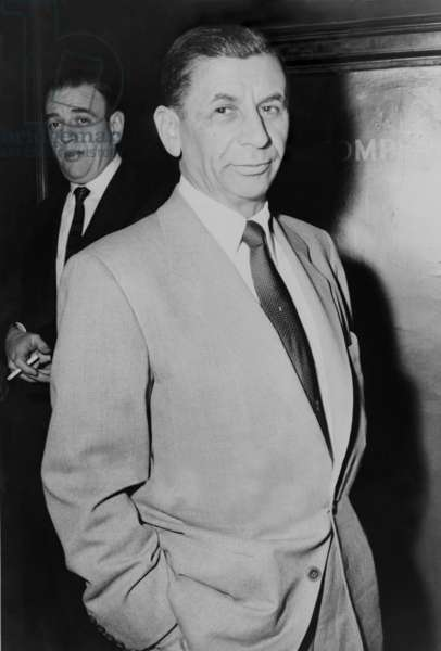 Meyer Lansky (1902-1983), underworld financier who built gambling casinos in Cuba and Las Vegas in 1958. He inspired movie characters: Hyman Roth, portrayed by Lee Strasberg in GODFATHER II, and Max Bercovicz, by James Woods ONCE UPON A TIME IN AMERIc. He was portrayed by Ben Kingsly in BUGSY, Dustin Hoffman in THE LOST CITY, and Patrick Dempsey in MOBSTERS