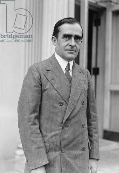 Dr. Cary Grayson was White House physician to President Woodrow Wilson. With Edith Galt Wilson, he hid the severity of Wilson's October 1919 stroke from members of the government and the public. He continued to attend the former President Wilson until his death in 1924. Photo dated Sept. 28, 1923
