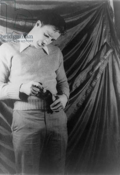 Marlon Brando, portrait by Carl Van Vechten, December 27, 1948