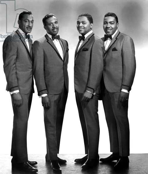 The Four Tops, (Abdul 'Duke' Fakir, Levi Stubbs, Lawrence Payton, Renaldo 'Obie' Benson), c. 1966