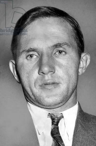 Bruno Richard Hauptmann (1899-1936) arrested as suspect in the Lindbergh kidnapping, 9/20/34