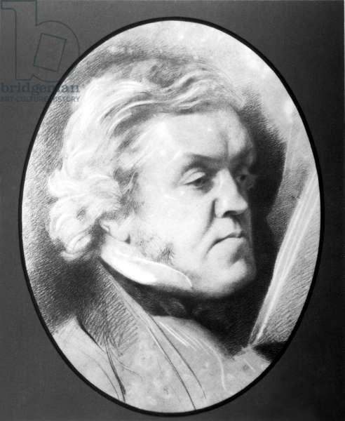 WILLIAM MAKEPEACE THACKERAY, c. 1862.