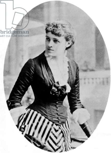 Edith Wharton, (1862-1937), American Novelist, circ. 1884