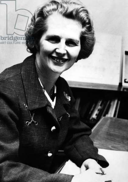 Margaret Thatcher, future Prime Minister of the United Kingdom, c.1970