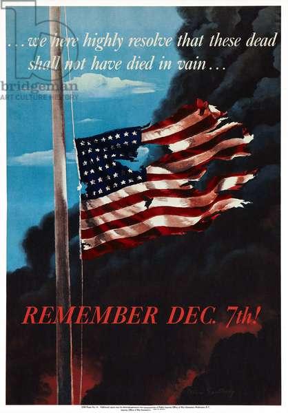 Remember Dec. 7th!, 1942