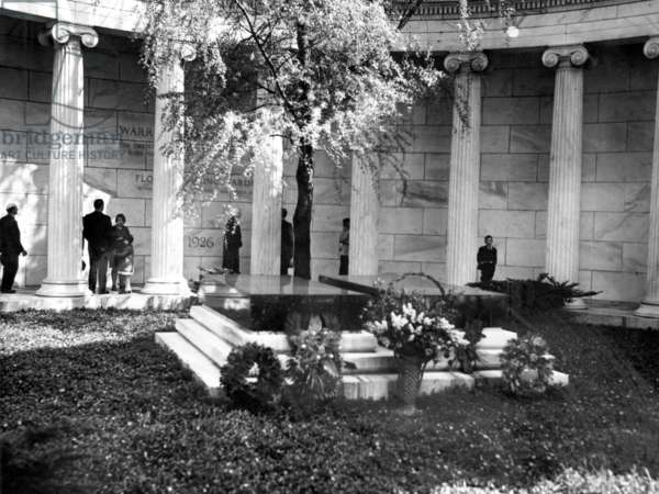 Tomb of Warren G. Harding, 29th President of the United States (1921-1923).