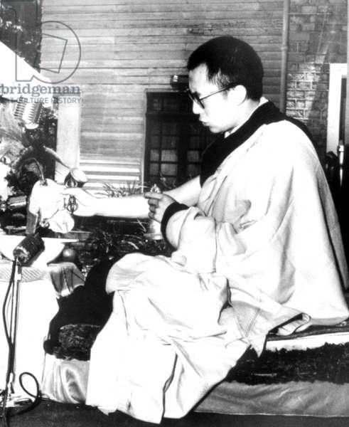 Dalai Lama, 5/27/59