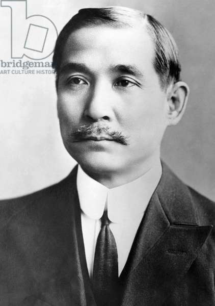 Sun Yat-sen, (1866-1925), the first President of The Republic of China, c.1924