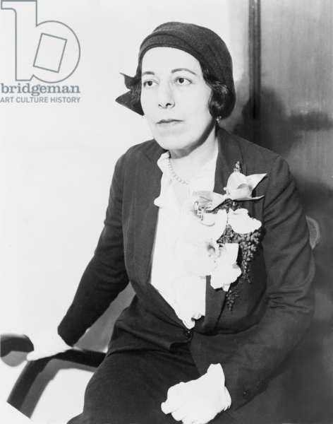 Edna Ferber (1887-1968) American novelist and short story writer won her a Pulitzer Prize in 1924 for SO BIG, a story about the struggles and strength of her female character. 1931