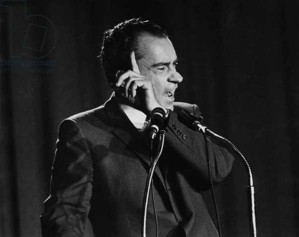 Richard Nixon. Future US President Richard Nixon, c.late 1960s