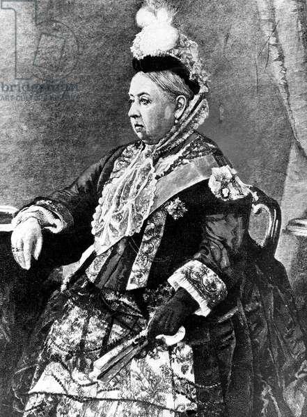 Queen Victoria of England, 1887