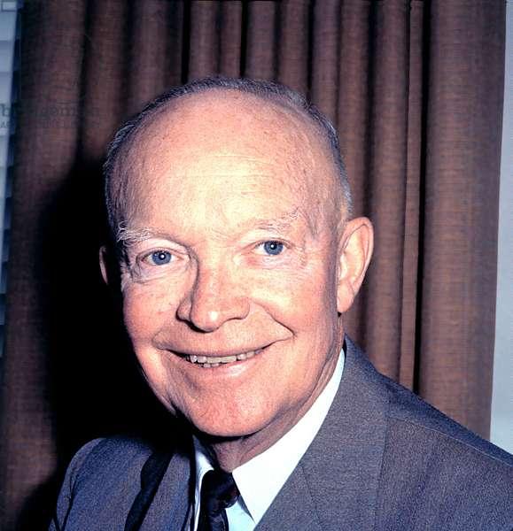 PRESIDENT DWIGHT D. EISENHOWER, late 1950s