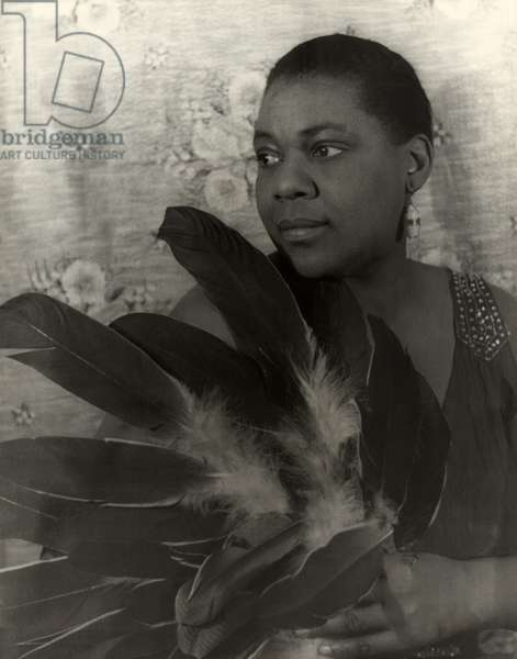 Bessie Smith, American blues singer, portrait by Carl Van Vechten, February 3, 1936