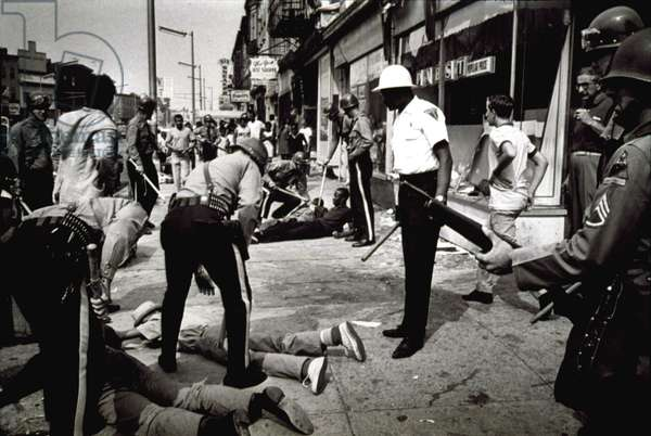 Newark, New Jersey, during the racial riots in 1967