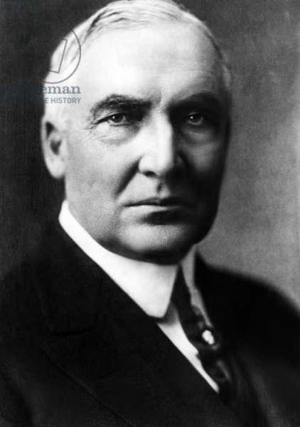 Warren G. Harding (1865-1923), United States President 1921-1923, c.1920s.