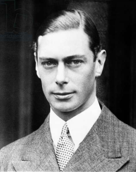 British Royalty. King George VI of England, 1936