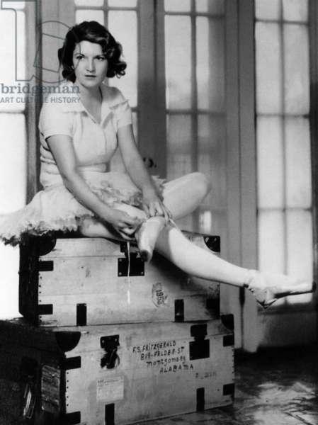 Zelda Fitgerald, 1931.