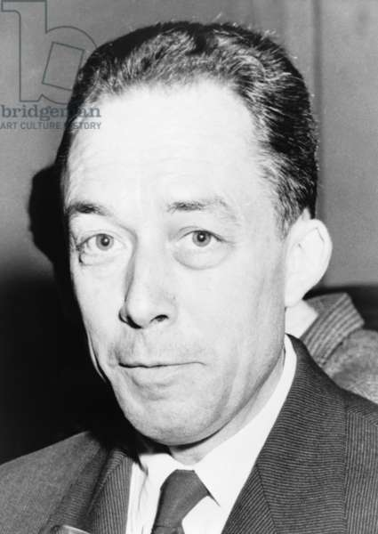 Albert Camus (1913-1960), Algeria-born French author and recipient of the 1957 Nobel Prize for literature