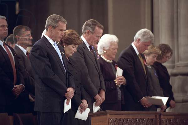 National Day of Prayer and Remembrance service on Sept. 14, 2001