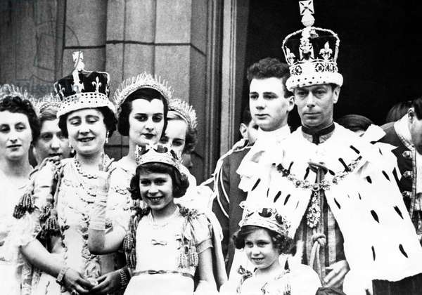 Coronation of King George VI: Front row, 1937