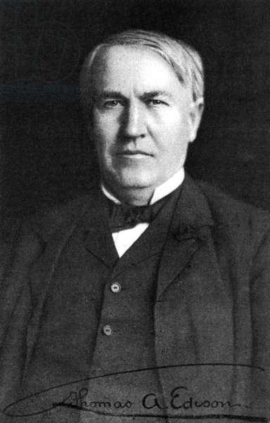 Thomas Edison, 1910