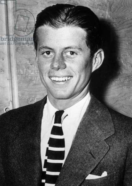 John F. Kennedy, c. 1943.