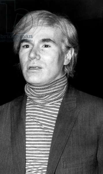 Andy Warhol, (1928-1987), American artist, c.May, 1969