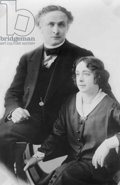 Harry and Beatrice Houdini in 1922 portrait. Harry and Beatrice Houdini in 1922 portrait. Harry and Beatrice Houdini in 1922 portrait. Harry and Beatrice Houdini in 1922 portrait. rary of Congress in 1993. st in 1959