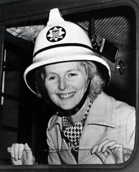 Margaret Thatcher, future Prime Minister of the United Kingdom, c.1976