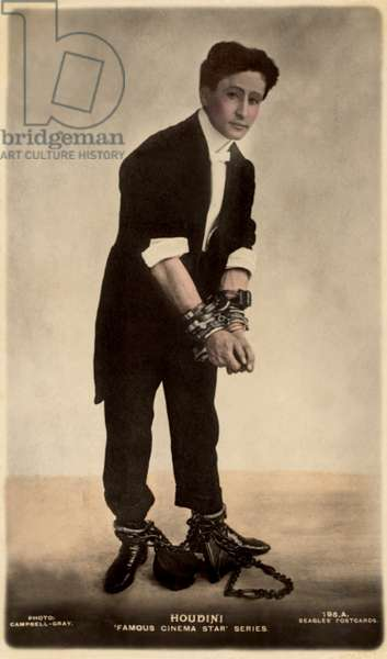 HARRY HOUDINI, c. 1916