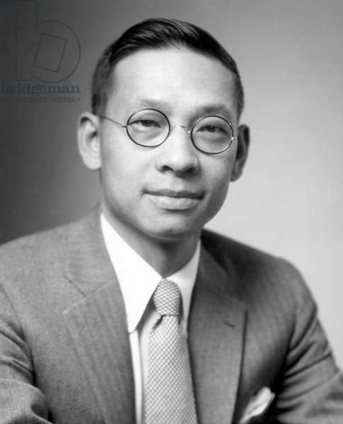 Ieoh Ming Pei, (aka I.M. Pei), Chinese-American modernist architect, 1957.