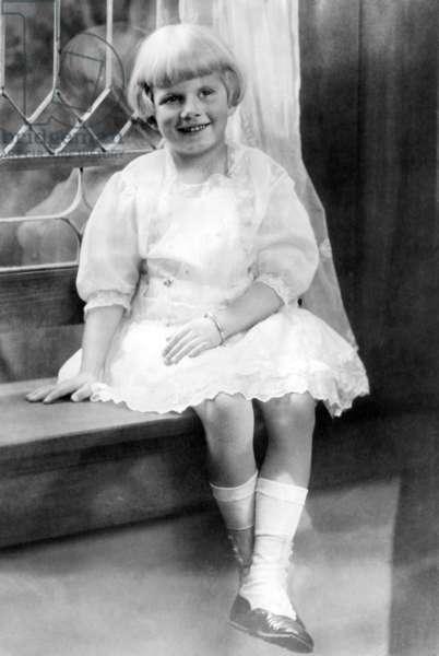 Jean Harlow at age 6, 1917