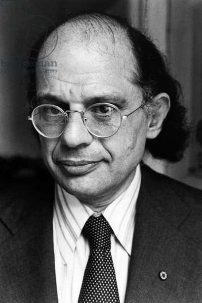 Beat Poet Allen Ginsberg, c.early 1980s