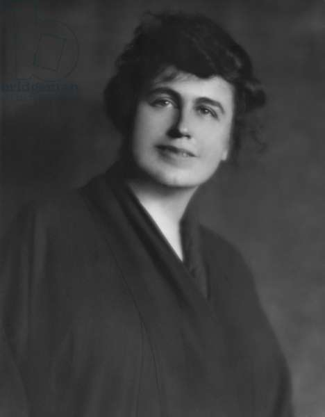 Edith Bolling Galt in Feb. 1915. She was the widow of jeweler Norman Galt, who met widower Woodrow Wilson in March 1915. The President proposed to her two months later, and the couple was married on Dec. 18, 1915