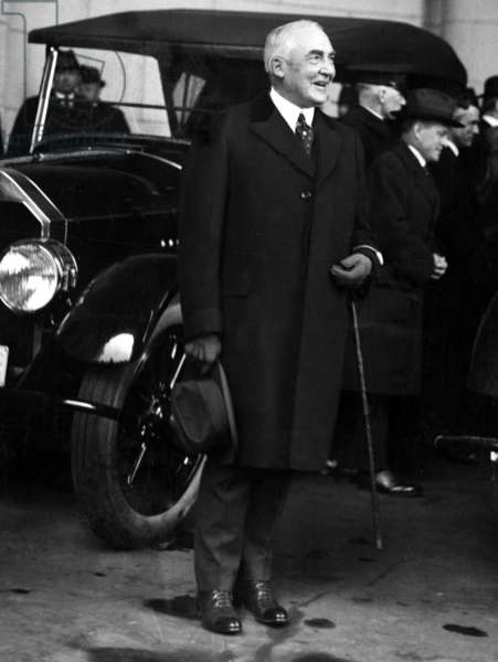 Warren G. Harding, 29th President of the United States (1921-1923). Photo dated March 03, 1921, Washington, D.C.